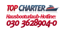 Hausboot Uraub Berlin Buchungs-Hotline Logo